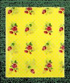Скатерть 108*180 Цветочная полянка, цвет желтый