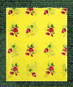 Предмет сервировки «Скатерть 108*180 Цветочная полянка, цвет желтый»
