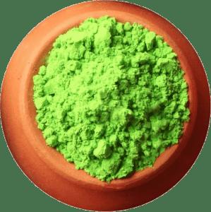 Карнавальная продукция «Краска Холи, цвет зеленый  (100 г)»