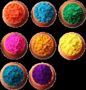 Карнавальная продукция «Краска Холи, цвет оранжевый (100 г)»